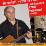 Jacques Jouët – en concert «Pour la paix»