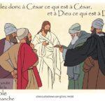 «Rendez à César ce qui est à César…»